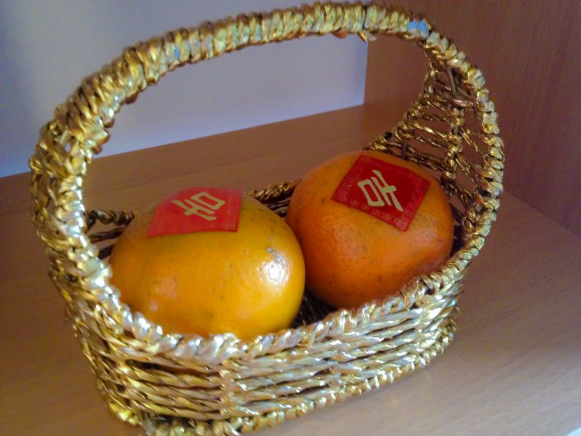 Oranges – symbols of prosperity and good luck