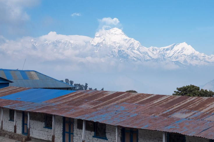 They will arrive in Ghorepani and enjoy breath-taking views of the snow-capped peaks of the Annapurna Himalayan mountain range.