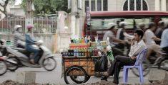Barwne życie ulic Ho Chi Minh City