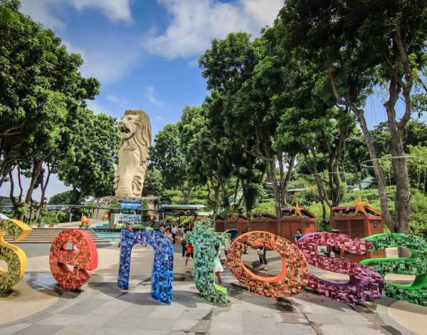 Sentosa – the national playground of Singapore