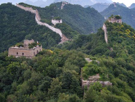 Jiankou, czyli Wielki Mur Chiński i jak z niego nie spaść