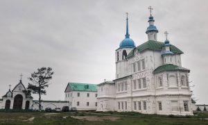 The Two Temples of Posolskoye