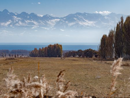 The two faces of Issyk-Kul